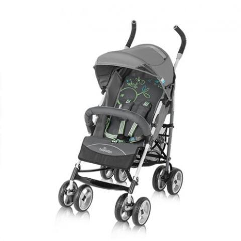 """Практичная прогулочная коляска Baby Design Travel с удобным и быстрым механизмом сложения типа """"зонтик"""".двойные самоустанавливающиеся передние колеса с возможностью блокировки, все колеса амортизированы. Вместительная сетка для покупок, четырехступенчатая регулировка спинки, съемная перегородка с регулировкой высоты, регулируемая подножка, пятиточечные ремни с мягкими накладками, складываемый капюшон с отстегиваемой задней частью и дополнительным козырьком, защищающим от солнца, эргономичные ручки из пенки со стопперами. Безопасный тормоз, блокирующий одновременно оба задних колеса. Коляска в отличном состоянии!"""