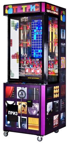 Готовый дополнительный доход без усилий!!!  НОВЫЙ! Развлекательный торговый автомат Тетрис (STACK 2 WIN). Стэкер с функцией выдачи капсулы с игрушками и ценных призов. Призовой автомат Stacker.  САМАЯ ПОЛНАЯ КОМПЛЕКТАЦИЯ: устройство для выдачи капсулы (сувенира), купюроприемник ICT V7, монетоприемник CoinSolve EU9!