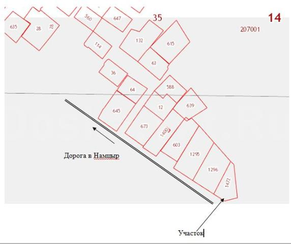 Продается участок под садоводство в СОТ «50 лет ВУЗам Якутии», 4,3 км. Намцырского тракта, 8,5 сот., не освоен.
