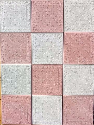 600 р./кв.м.  Тротуарная плитка  Квадрат Азия 300 х 300 х  (толщина 4.5 см, 11 шт./кв.м.), (в наличии 200 кв.м).