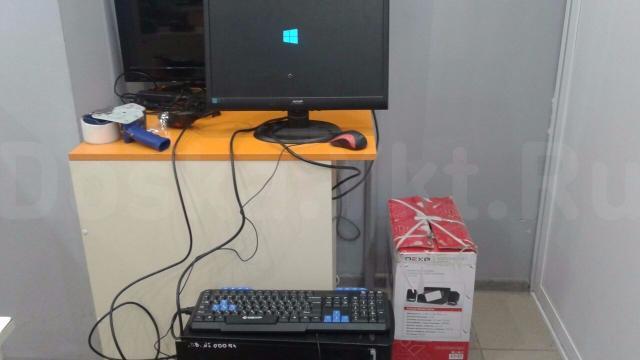 Продаю СРОЧНО 4-ех ядерный ПК полный комплект (системный блок, монитор, мышка, клавиатура, акустика 2.1). Характеристики: Intel Core Quad Q9550/2gb RAM/160gb HDD/Встроенное видеоядро. Можете сюда добавить еще видеокарту уровня GTX750 и играть во все современные игры.