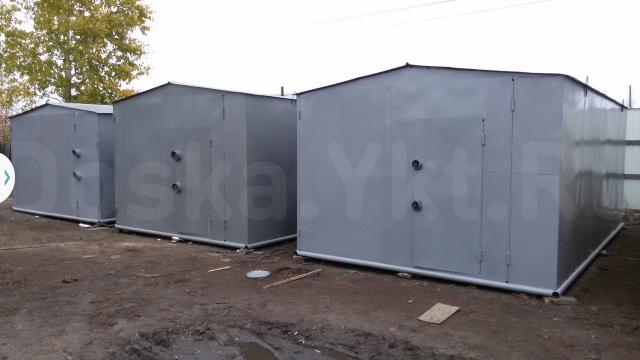 Продается новый металлический гараж, размер:  длина-6м, ширина 3,5-м, высота проема ворот 2,3 метра – под УАЗ ДЖИП МИКРОАВТОБУС , окрашен эмалью, распашные ворота с двумя навесными замками с приваренными отводами(защита от взлома), отдельная дверь, все сделано из нового материала, гарантия на все, организую доставку до вашего места. Цена 105 тыс.руб.  тел.8924-66-22-333