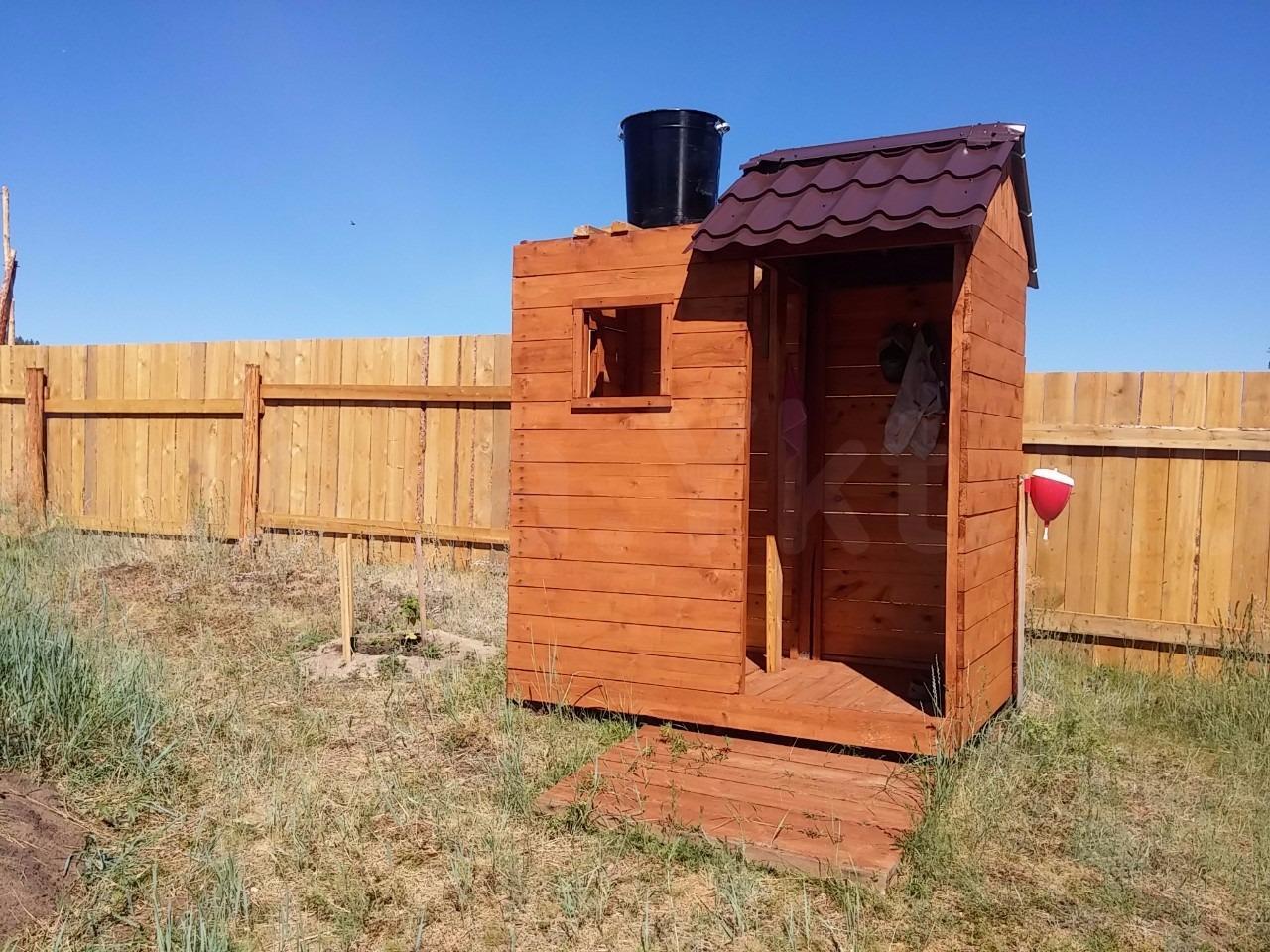 Туалет душ на даче своими руками
