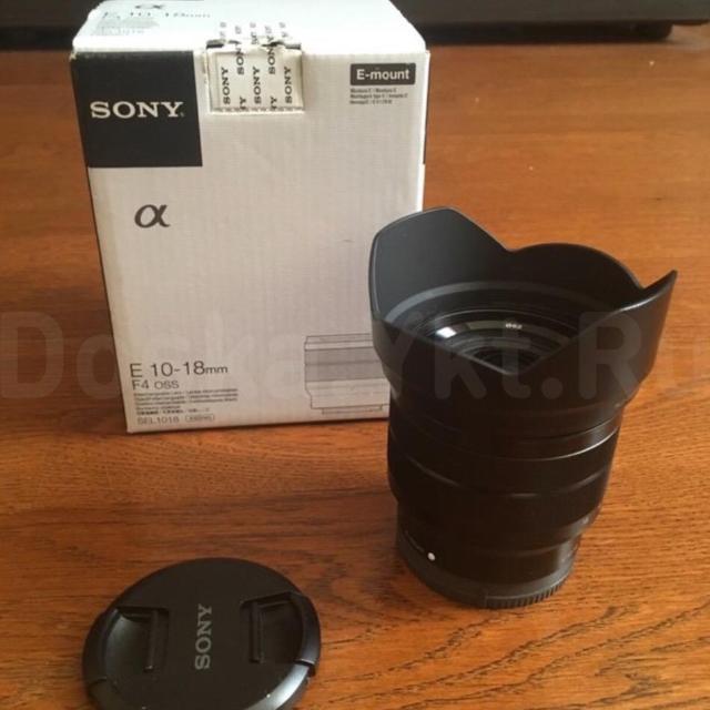 Объектив Sony E 10-18 мм F4 OSS sel1080 Состояние идеальное. Практически не использовался. Коробка, бленда и оригинальные заглушки. Продаю, потому что лежит без дела. Покупался за 52000, сейчас стоит аж 60000, отдам за 32000. Великолепный широкоугольный объектив для съемки пейзажей, интерьеров, свадеб и прочих мероприятий. Идеален для фотоаппаратов серии Альфа.