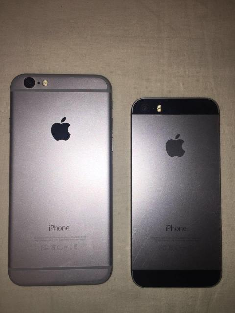 Обменяю два iPhone (iPhone 5S 16gb и iPhone 6 16gb) на iPhone 7  Отдельно не меняю, ни на мейзу, не нужен Самсунг, не предлагайте иные продукты!!! !!!!!!!Только iPhone 7!!!!!!!