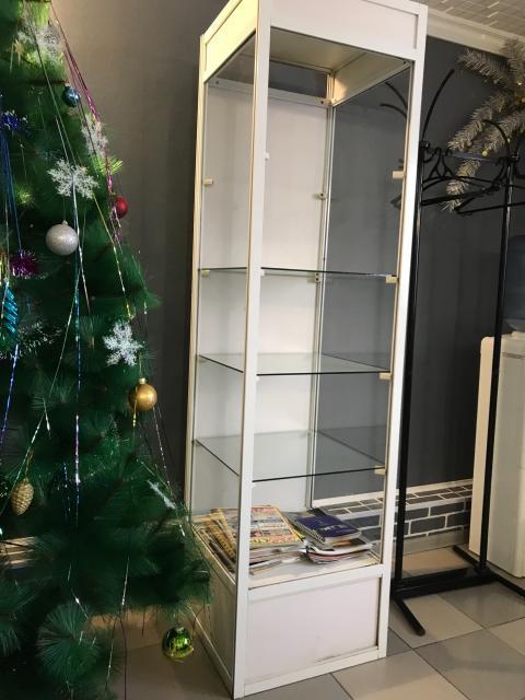 Продаю витрину в очень хорошем состоянии не хватает только верхней полки, стеклянная дверца есть (снята)