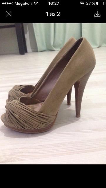 Продам туфли Zara размер 35-36 цена 600