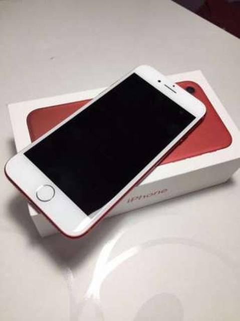 IPHONE 7 RED (PRODUCT) 128 gb новый! Идеальнейший 5 из 5 Куплен в М видео. Состояние нового телефона, есть все, чек гарантия. Наклеено дорогое 3д стекло, которое закрывает дисплей полностью. Телефоном с момента покупки не пользовались, находится в коробке.  Причина продажи куплен iPhone X! СостоЯние телефона новое, как из магазина !