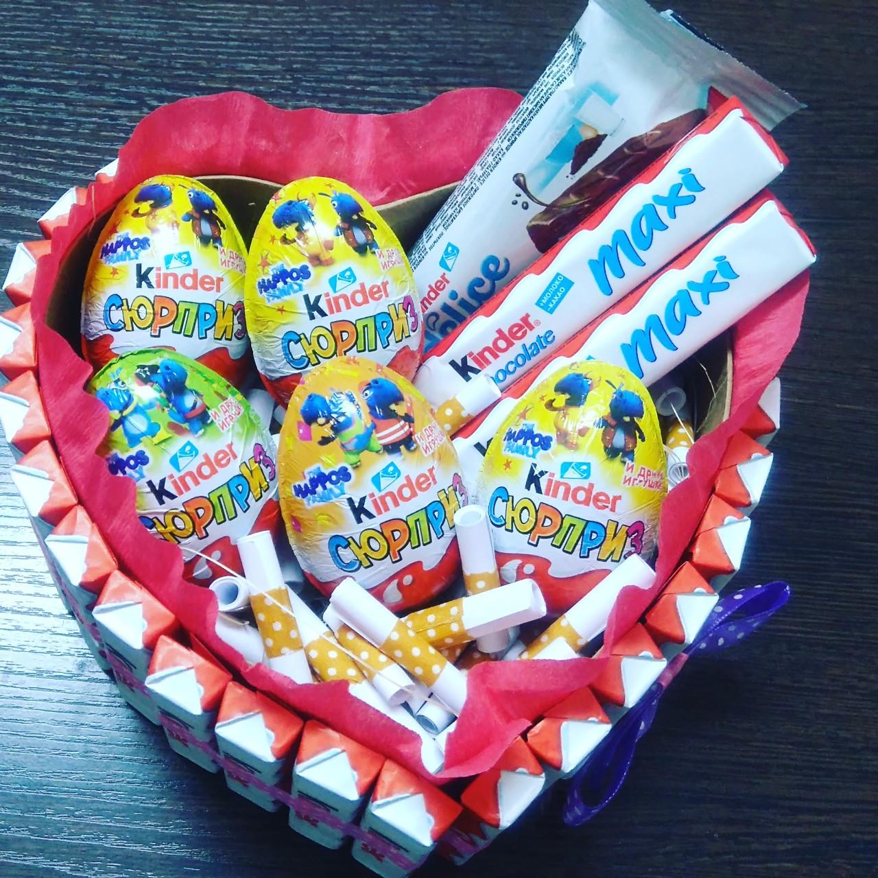 Шоколадное яйцо FERRERO Kinder сюрприз - отзывы