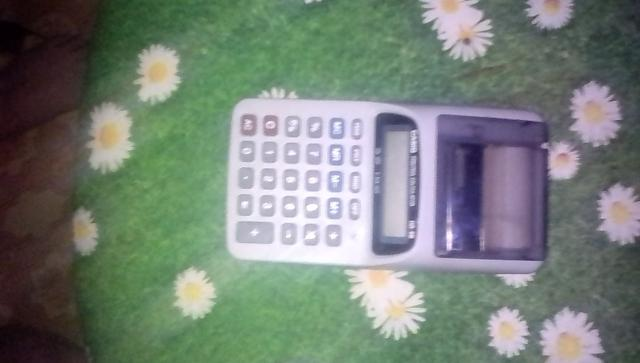 Продаю кассовый аппарат, калькулятор, печатающий casio printing calculator HR-8B. Обращаться ватсап