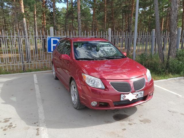 Pontiac vabe 2006 г.в. /Toyota Voltz/ левый руль  цвет вишневый металлик, зимой не ездил, отс, аналог toyota matrix (verso), с запчастями проблем нет,номер ватсап 89142713356, 1 хозяин. Торг при осмотре.