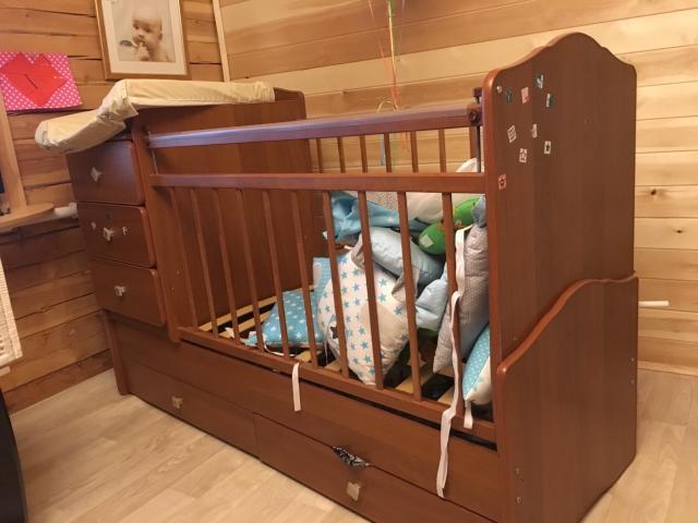Продаём кроватку в отличном состоянии