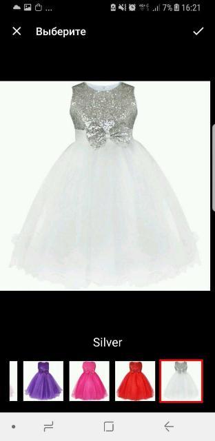 платье на 2-3г