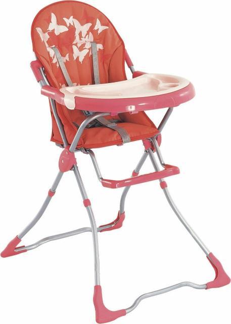 Для девочек с 6 мес до 3 лет покупаем нежный нежный стульчик для кормления с бабочками. Не занимает много места, поддон можно снять и помыть очень удобная.
