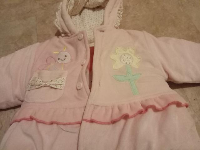 Куртка с комбинезоном для девочки рост 92см