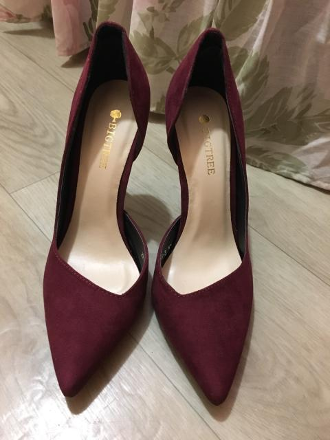 Новые туфли цвета марсала😍 Размер 37, маломерят. Обращаться в ватсап)