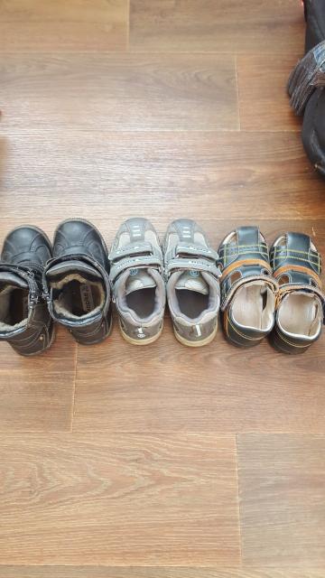 Обувь 29 размера за 3 пары 900р