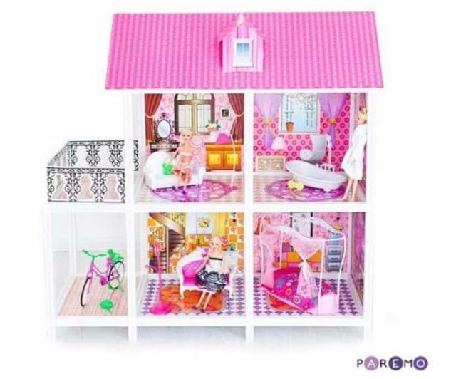 Кукольный домик 3 комнаты. Без мебели