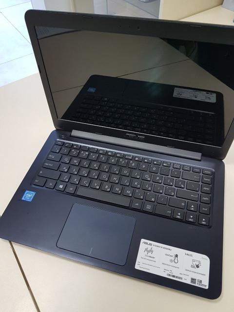 Продам Ноутбук Asus E402SA-WX016T Процессор:Celeron(R)CPU N3050@ 1.60GHz, Ядер 2 лог Видеокарта:Intel(R)HD Graphics  Оперативная Память:2GB  ОЗУ:1GB  Состояние Идеальное