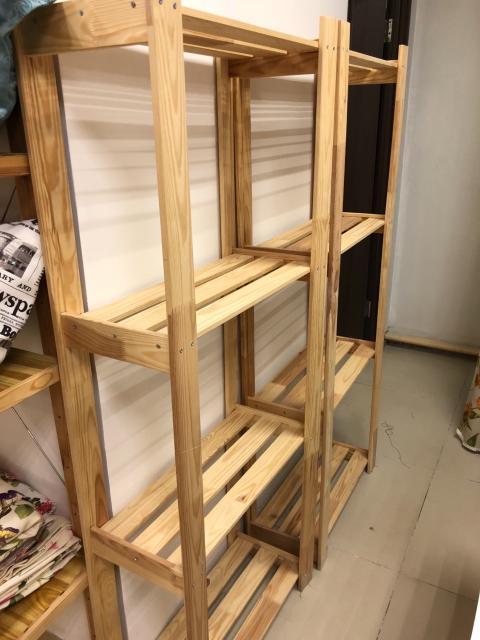 Продам два деревянных стеллажа ИКЕА по 500р