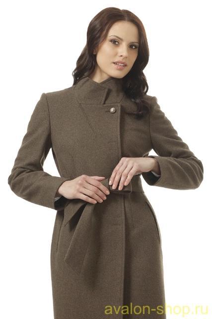Продаю новое пальто АВАЛОН, 48 размер, коричневый как на фото