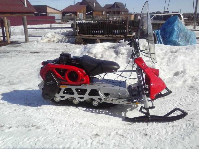Продаю новый снегоход «Рыбинька» РМ, 7 л.с.