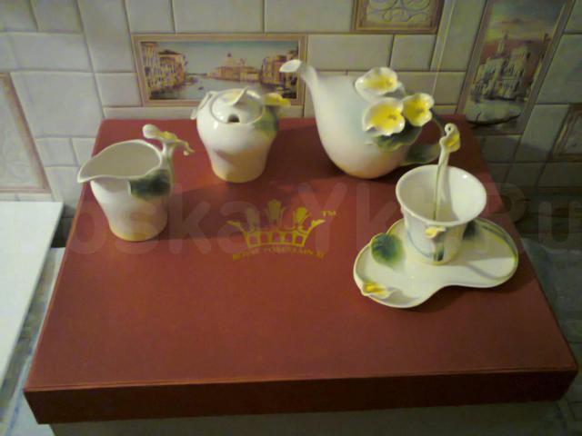 Чайный сервиз на 4 персоны royal porcelain xi.15 предметов.