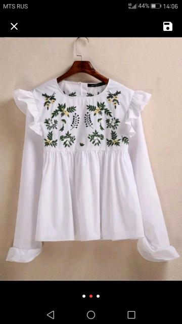 Продаю новую белую рубашку. Размер 42. Цена 500 руб.