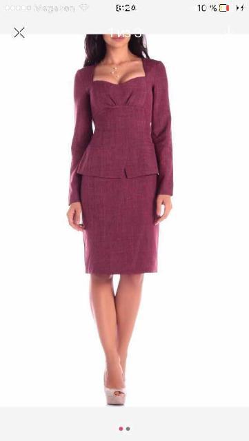 Продаю новое платье размер 46-48 размер, цвет сливовый . Заказывала через интернет за 3790, причина продажи не подошёл размер