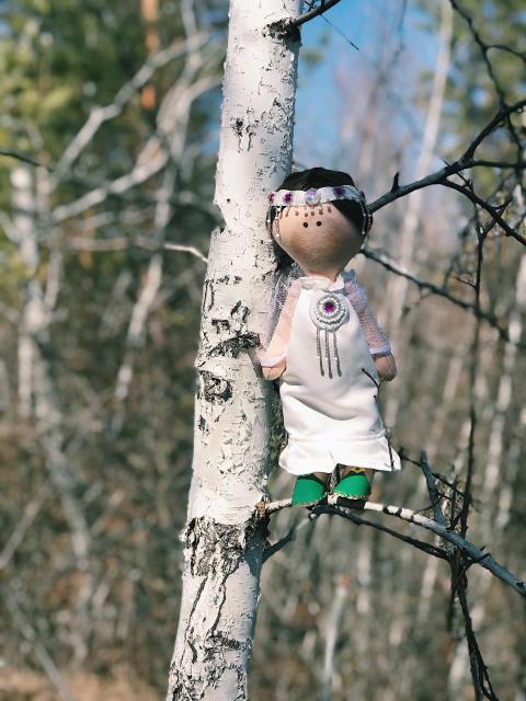 Кукла якутяночка😍 отличный подарок к Ысыаху☺️🌿🌿🌿🌿