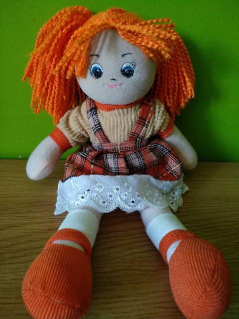 Мягкая кукла, бренд Гулливер
