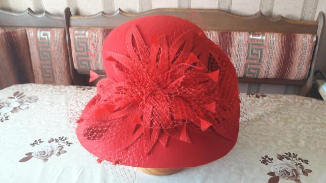 Продаю шляпу из натурального фетра. Эксклюзив. Размер 58. Новая.