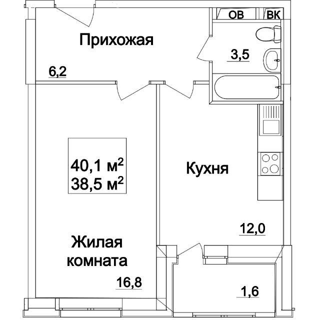 сдаю 1 комн квартиру по ул петра алексеева  практически пустая. оплата 16тр ежем.