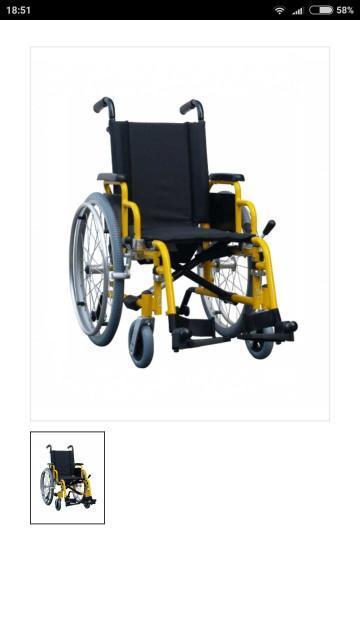 Продаю б/у коляску инвалидную детскую. Простая, компактная, складная детская инвалидная коляска Excel G3 Pediatric, которая также очень легкая и портативная. Выпускается с рамой ярко- желтого цвета. Ручки для сопровождающего регулируются по высоте. В стандартной комплектации оборудована рычажным тормозом, регулируемым по горизонтали и углу наклона. Особенности Excel G3 Pediatric: Подлокотникиоткидные, с боковыми грязезащитными щиткамиПодножкиоткидные, съемные, регулируемые по высоте, с нейлоновыми опорами для стопРама складная, алюминиеваяКолеса задние быстросъемные , регулируемые по вертикальной осиКолеса передние регулируемые по вертикальной оси, полиуретановые Технические характеристики: Страна - НидерландыТип привода - РучнойНазначение - Для дома, Для улицыВысота спинки - 42 смШирина сиденья - 30-35 смГлубина сиденья - 30 смОбщая длина изделия - 83 смОбщая ширина изделия - 51 смГрузоподъемность - 75 кгТип рамы - АлюминийСкладная рама - ДаШирина в сложенном виде - 28 смТип шин задних колес - Пневматические. Самовывоз с Каландаришвили