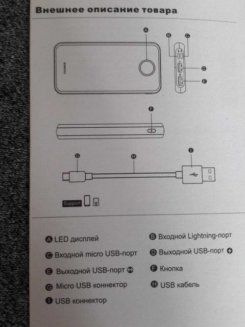 Не хватает заряда на работе или учёбе, а зарядник дома? Хотите быть уверены, что Ваша батарея не разрядится? Портативный аккумулятор – Ваш выбор!   Вместительный, способный зарядить Ваш телефон до 5 раз, аккумулятор имеет: - 2USB - пластиковый корпус с индикатором заряда - свой USB-кабель - ёмкость 10000 мАч  Обращаться только в WhatsApp
