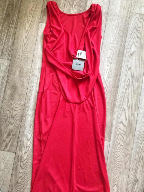 Продаю новое коралловое платье от ASOS размер 44
