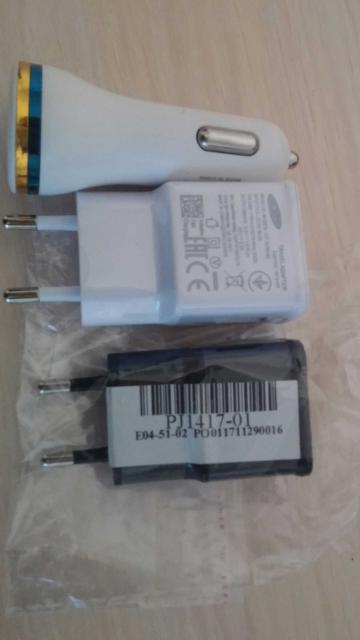 Продаю новые зарядники для телефона,от сети и автомобильный!