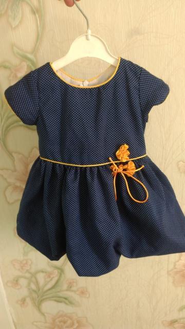 Продаю праздничное платье.Размер 62-68.В отличном состоянии.