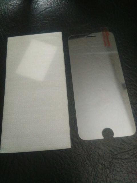 новое защитное стекло на iPhone 6
