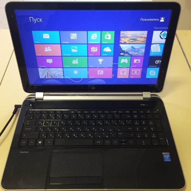 Продается ноутбук Hp 15-n051sr Intel Pentium 2117U 1.8GHz/4Gb/500Gb/Intel HD/DVD-RW/BT/Wi-Fi/Win8