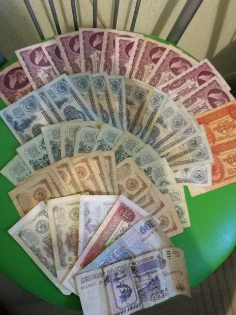 Срочно продам купюры СССР 1961, 1991,1993,1995 гг. по хорошей цене. 89148296489