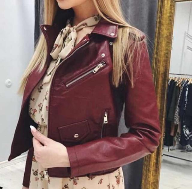 Продаю кожаную куртку новое, причина продажи заказала через интернет магазин, к сожалению размер не подошёл размер 44-46 р-р.
