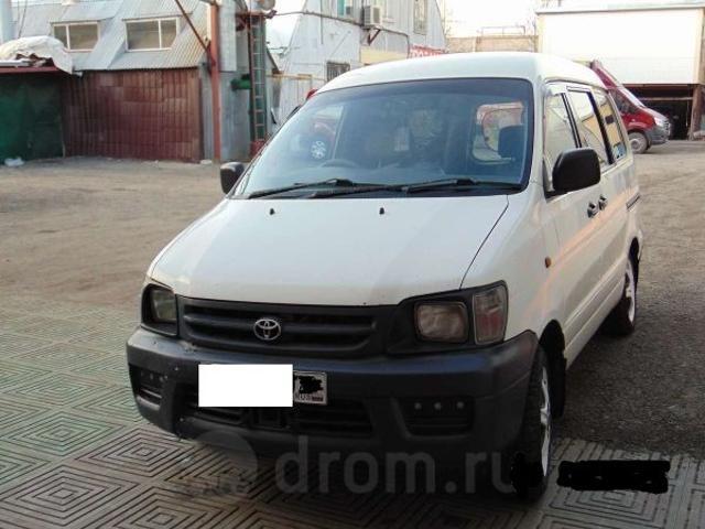 Продаю Toyota town ace 2003 года ГБО 270 торг. Можно с работой.