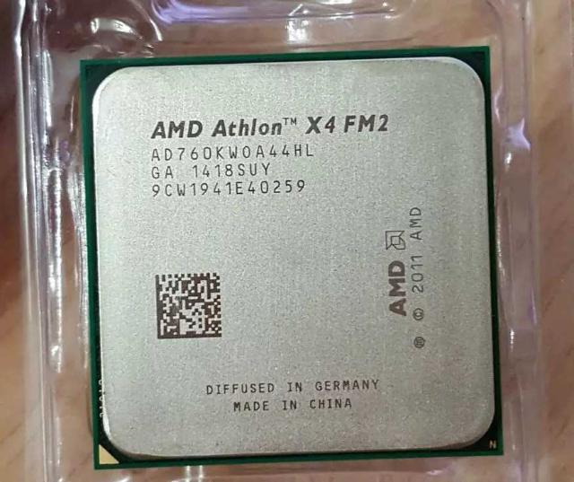 AMD x4 760 К quad-core FM2 3.8 ГГц 4 МБ Без торга