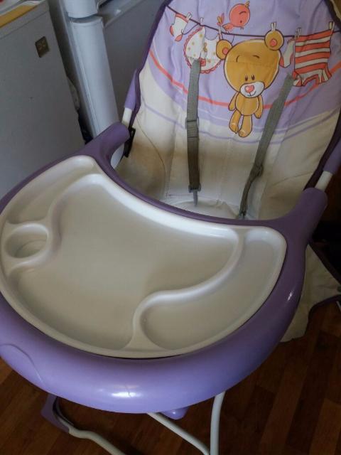 Продаю стульчик для кормления б/у.