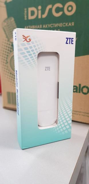Фирма ZTE. Оригинал. Новый. Скорость до 21.6 мбит. Под любого оператора сим карт.
