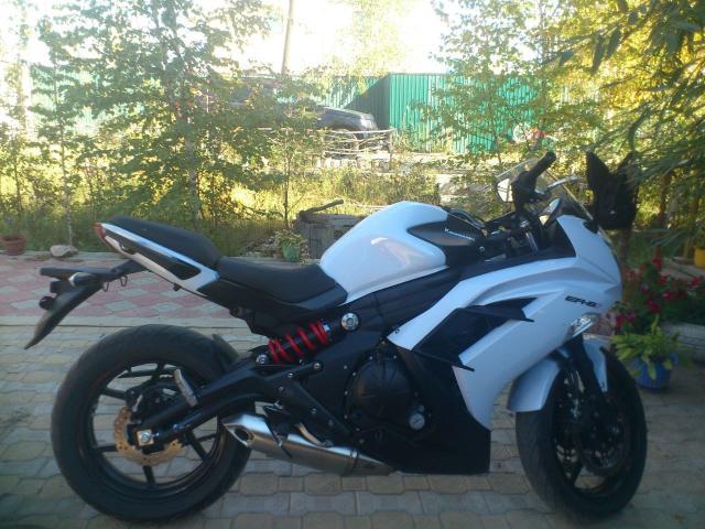 Продаю или меняю на авто мотоцикл Kawasaki ER 650F 2013 г.в.