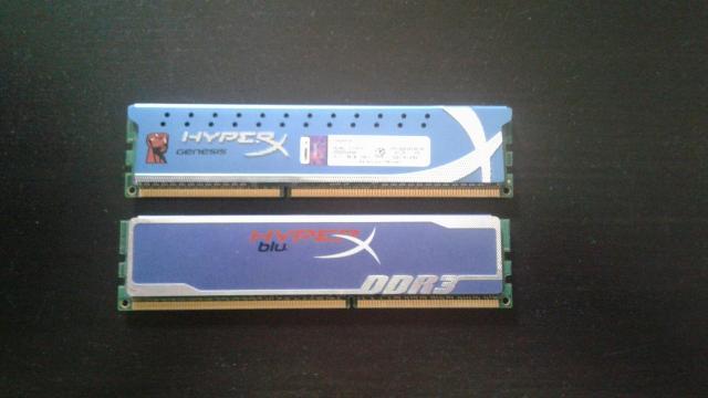 DDR 3 Kingston 1333mhz 2 оперативки по 2 гига    самовывоз. писать в ватсап