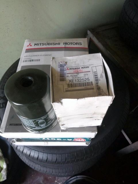 Мицубиси паджеро V78W дизель, продам топливный фильтр оригинальный ЯПОНИЯ!