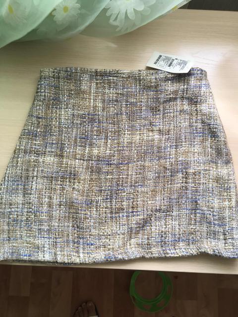 Продам тёплую новую юбку.размер S-M